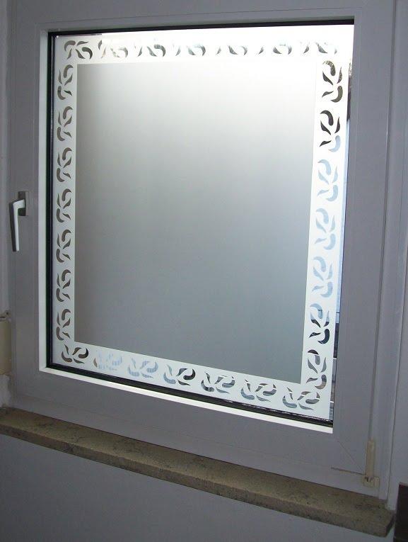Tuningline glasdekorfolie die zweite - Badezimmerfenster sichtschutz ...