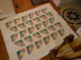 Dad's Mother's Quilt from the 1930;s