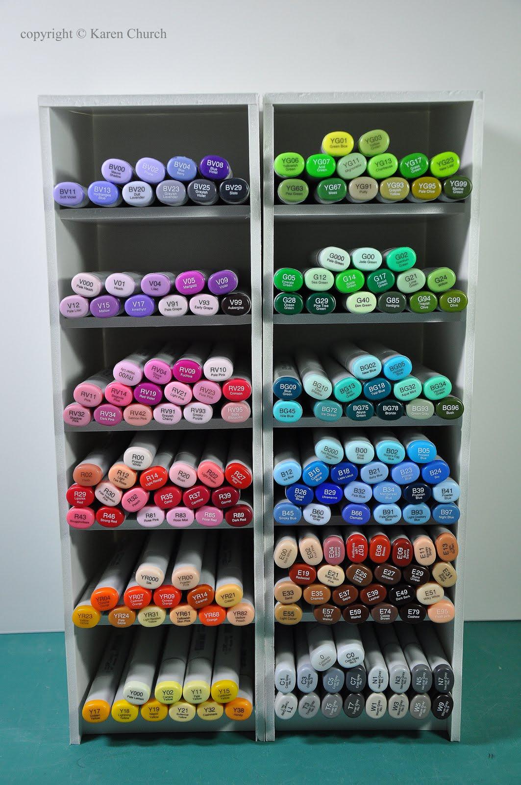Syzygy of me foam board copic storage for Foam board project ideas