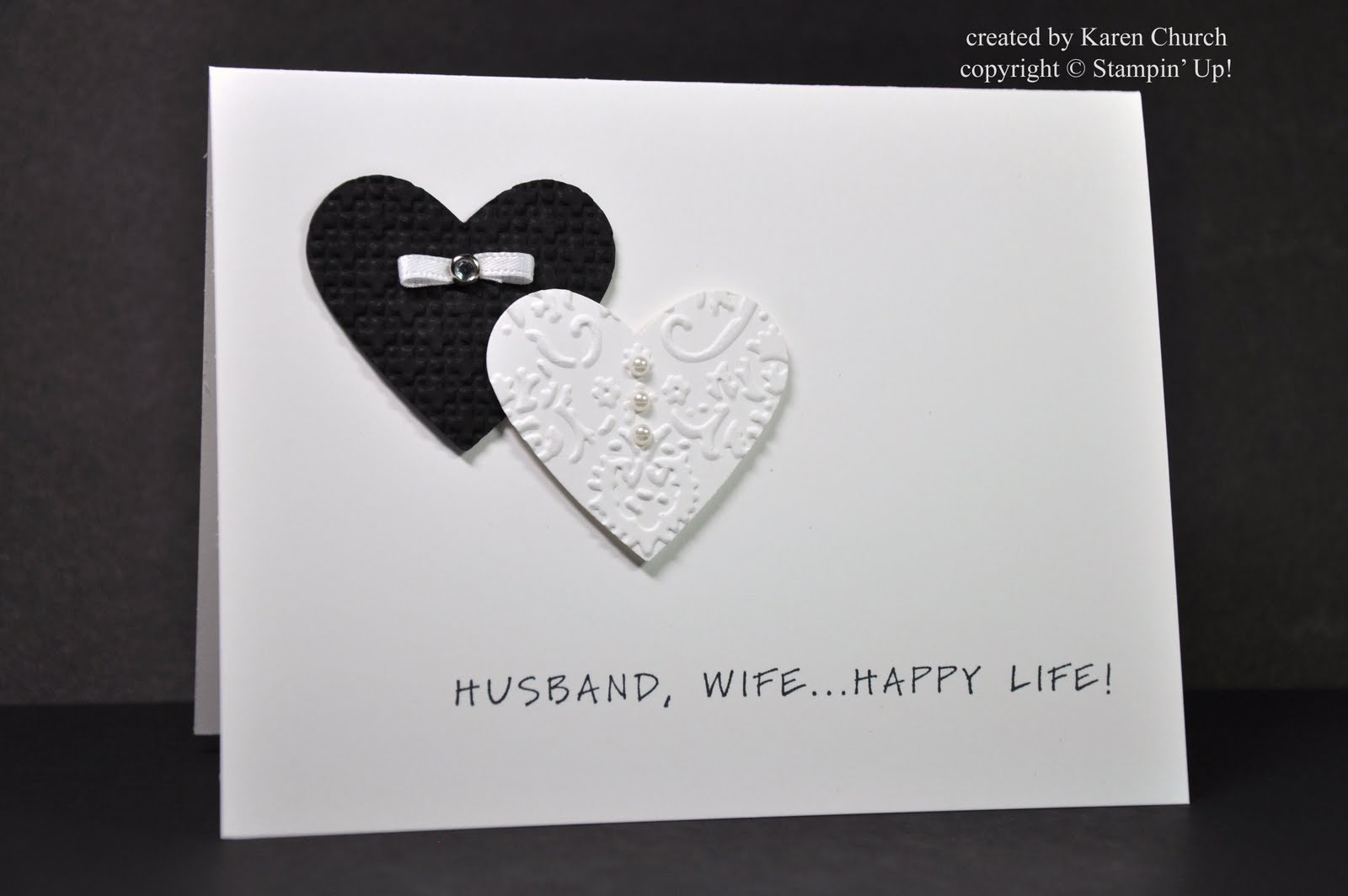 Syzygy of Me A Simple Wedding Card