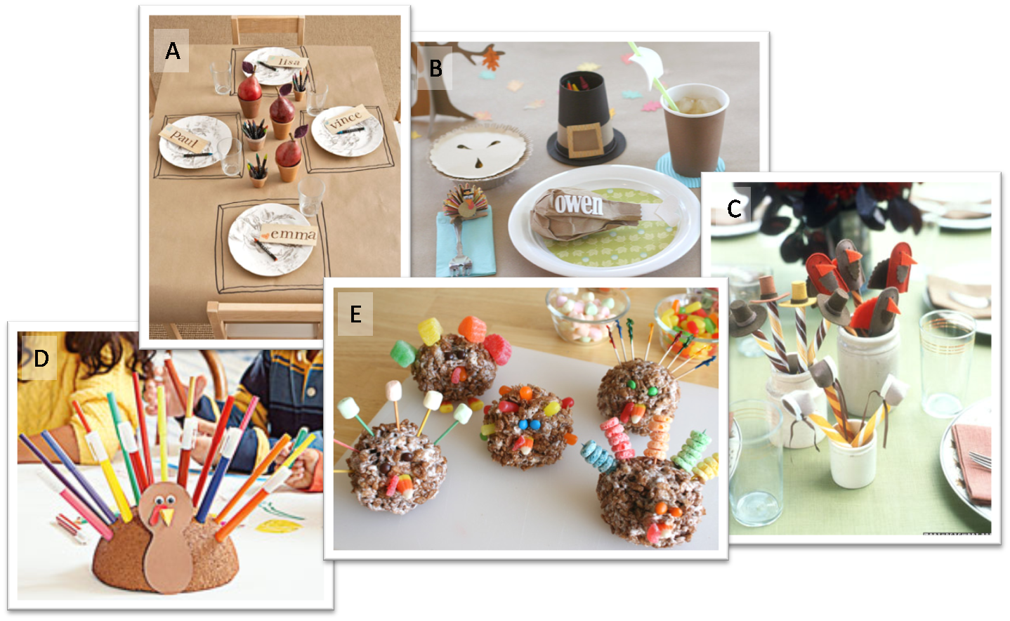 Thanksgiving Table Decorating Ideas for Kids 1438 x 884
