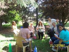 Convivencia 2007 docentes y miembros de la comunidad educativa