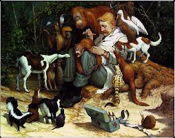Un veterinario desde el arte. No conozco mejor imagen