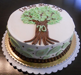 Cake Covered In Chocolate Mazal Tov