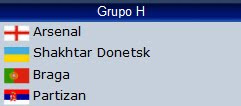 Grupo H Champions League