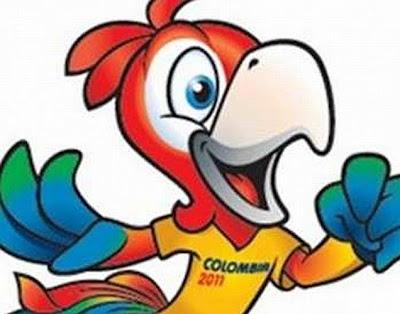 Mascota Copa Mundo Sub 20 Colombia 2011