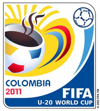 Brasil y Egipto inaugurarán el Mundial Sub-20 Colombia 2011 Logo_Mundial_Sub20_Colombia2011