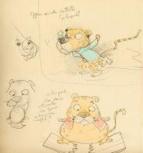 VI PRESENTO LEO disegnato da Chiara Sacchi