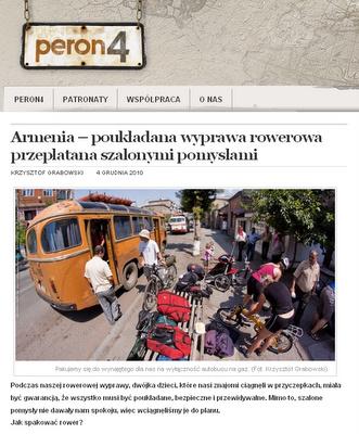 Rowerami składanymi po Armenii