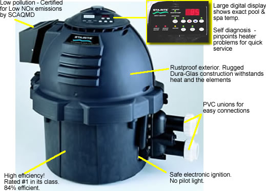 Swimming Pool Heaters Electric Pool Heater