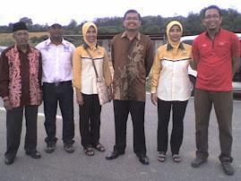 Bersama Datuk Shamsul Anuar Nasarah Ahli Parlimen Lenggong & AJK Pengurusan