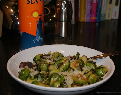 Little Bit of Everything: Golden Crusted Brussels Sprouts
