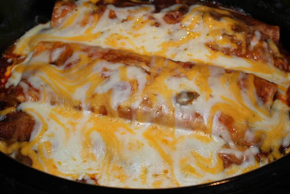 slow cooker enchiladas recipe courtesy of the kitchn serves 4 6 1 2 ...