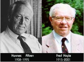 ฮานส์ อัลเฟน (1908 - 1995) และเฟรด ฮอยล์ (1915 - 2001)
