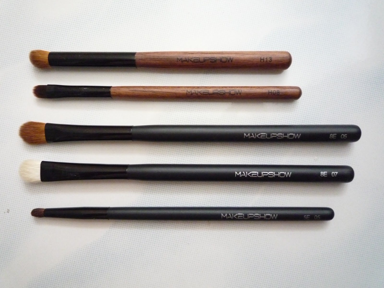 Makeup show makeup brushes