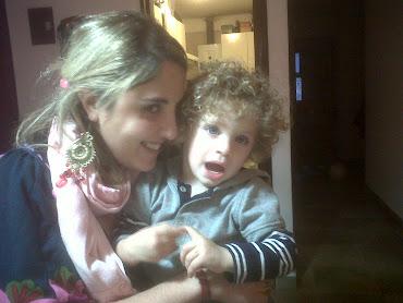 Con Mi sobrino Santu...