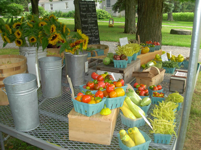 Schoolhouse Farms Veggies of the season past
