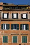 Building facade, Rome