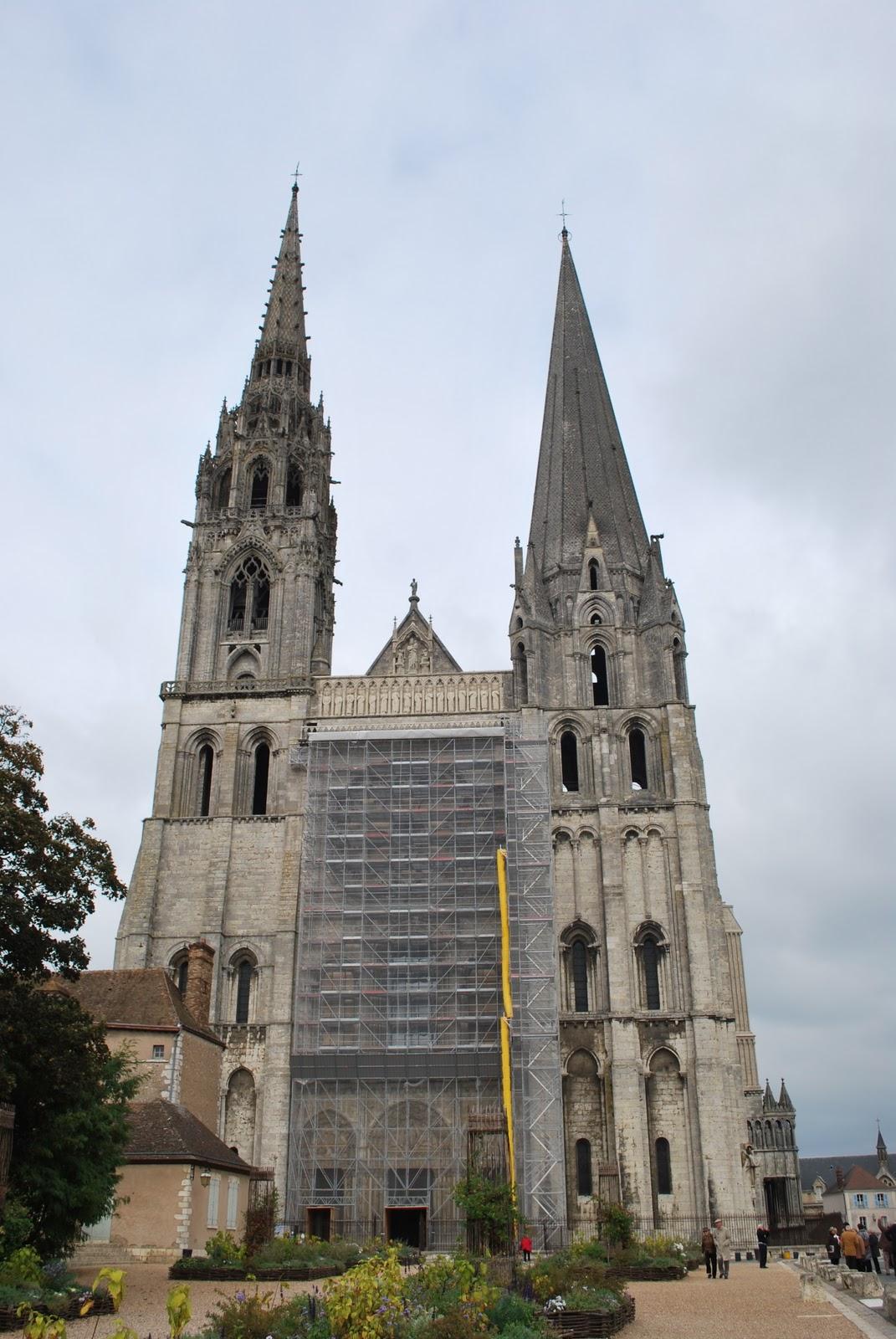 Clare In Wonderland  Notre Dame De Chartres  Exterior