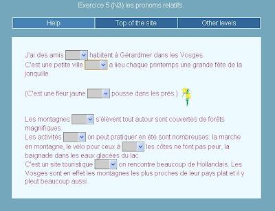 Le journal de fran ais les pronoms relatifs qui que dont o - Le journal de francois ...
