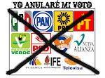 Hidalgo Destruido votó nulo y seguirá votando nulo