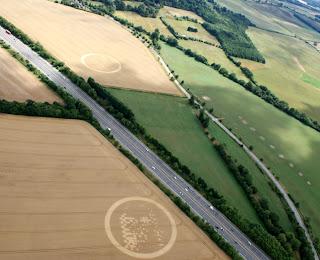 Crop Circles - Círculos en las Cosechas Wickham2010d