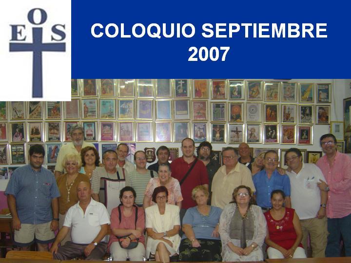 COLOQUIO SEPTIEMBRE 2007