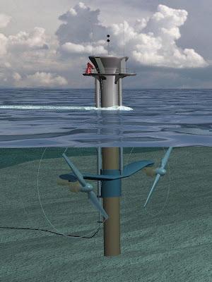 Dual Marine Turbine