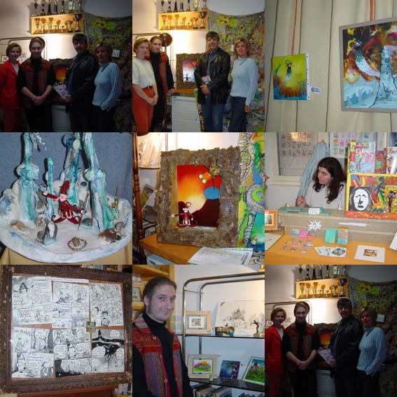 Exposition Peuple Gniard, oct. 2003