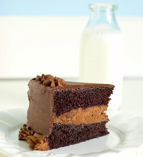chocolate cake recipe. Sour Cream Chocolate Cake
