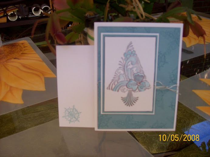 Scandinavian Season....October 4, 08 World Card Making Day class