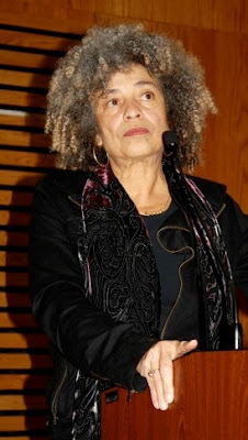 Angela Davis speaks at Tookie Williams Summitt at Merritt College in Oakland