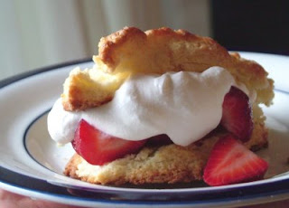 strawberry baked shortcakes pic