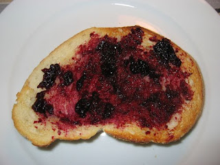 blueberry toasted bread pic