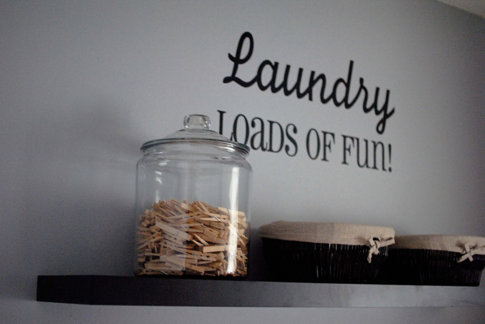 The Tidy Nest: Laundry Room Frames
