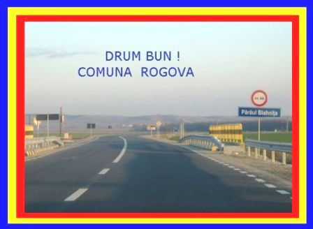 Drum Bun ! Comuna Rogova