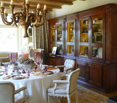 dining room showcase
