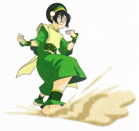 Avatar The Last Airbender Toph Earthbending