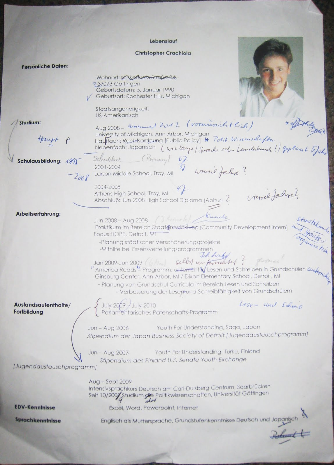 essay about myself in german language How to write an essay in italian, even if you barely speak the language june 12 it would force me to improve my language skills pick up some of the key vocabulary, and generally orientate myself it was also a fantastic place to get italian writing tips i quickly figured out that.