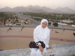 sunset in arafah mount