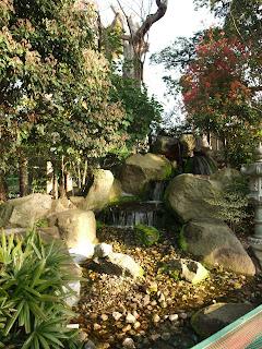 生魂神社の滝