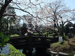 淺草寺の日本庭園