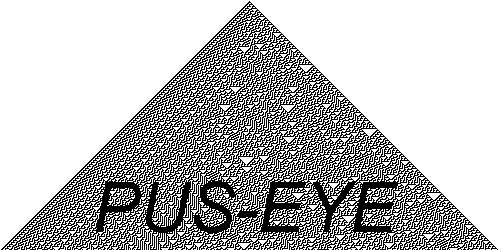△  PUS-EYE  △