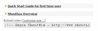 kode html shoutbox image