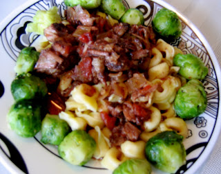 Leah 39 s kitchen braised beef with tortellini and garlic Olive garden braised beef tortelloni