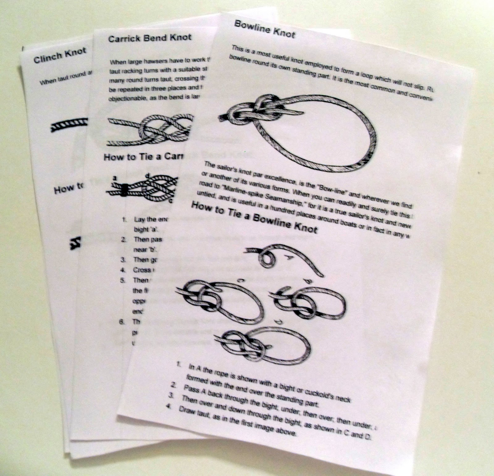 montessori for learning to be or knot to be our next decorative knot tying diagrams knot tying diagrams.pdf