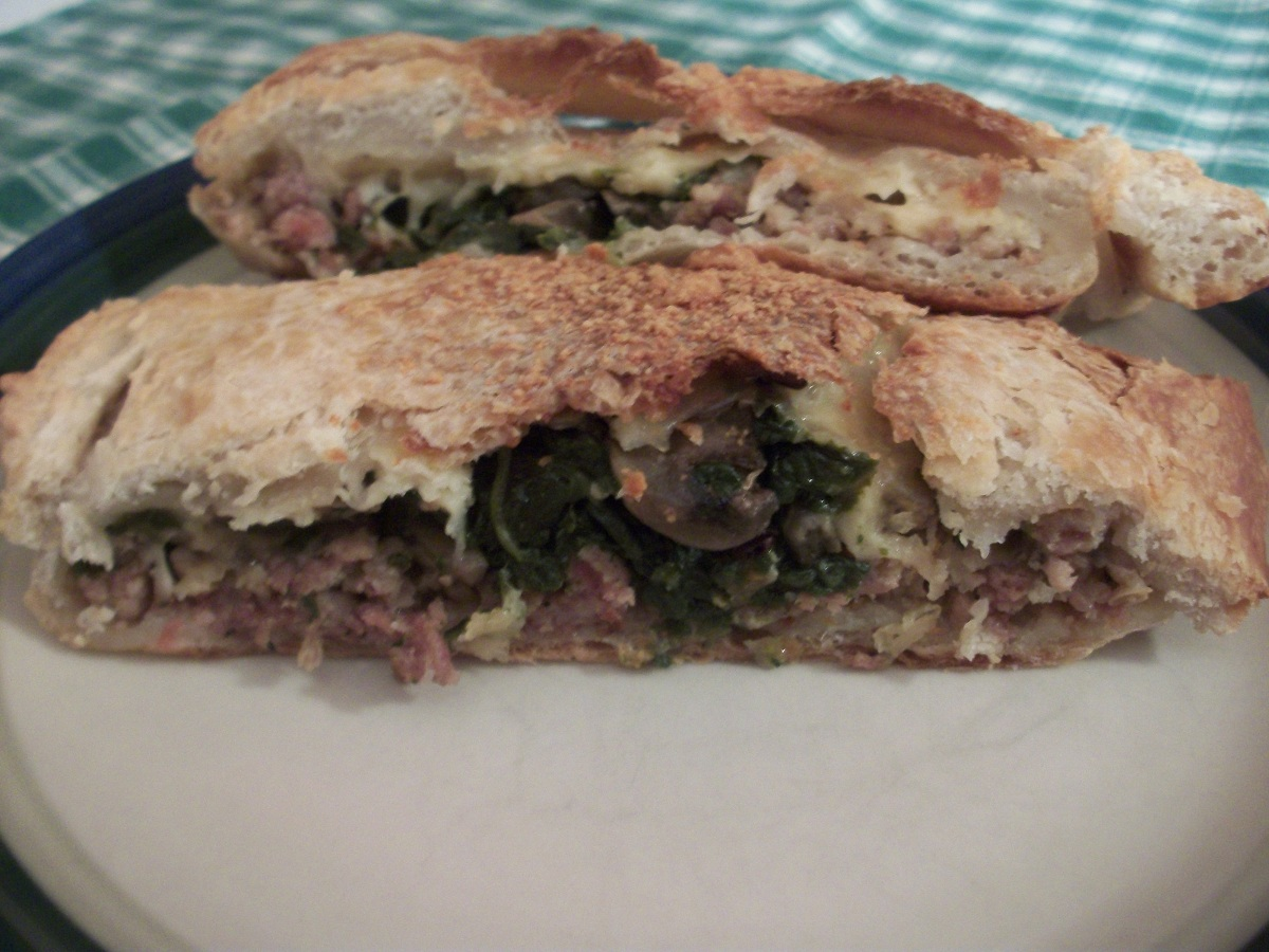 Spinach And Salami Stromboli Recipes — Dishmaps