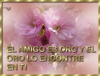"""Premio """"el amigo es oro"""""""