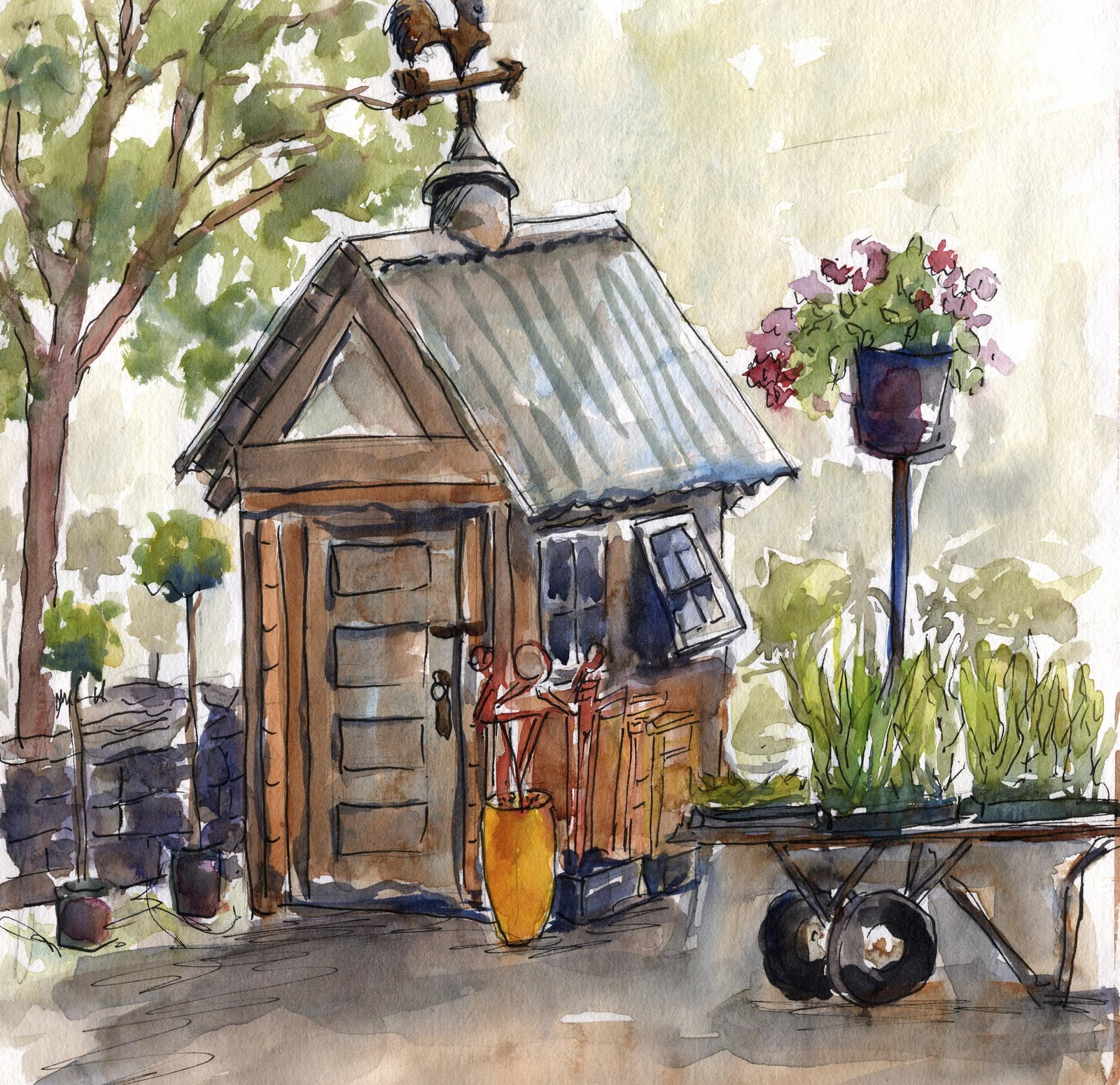 Garden Sheds From Recycled Materials