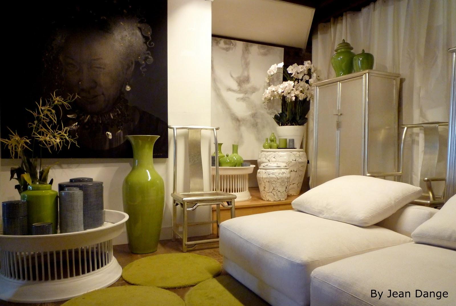jean dange acid green room salle vert acide. Black Bedroom Furniture Sets. Home Design Ideas